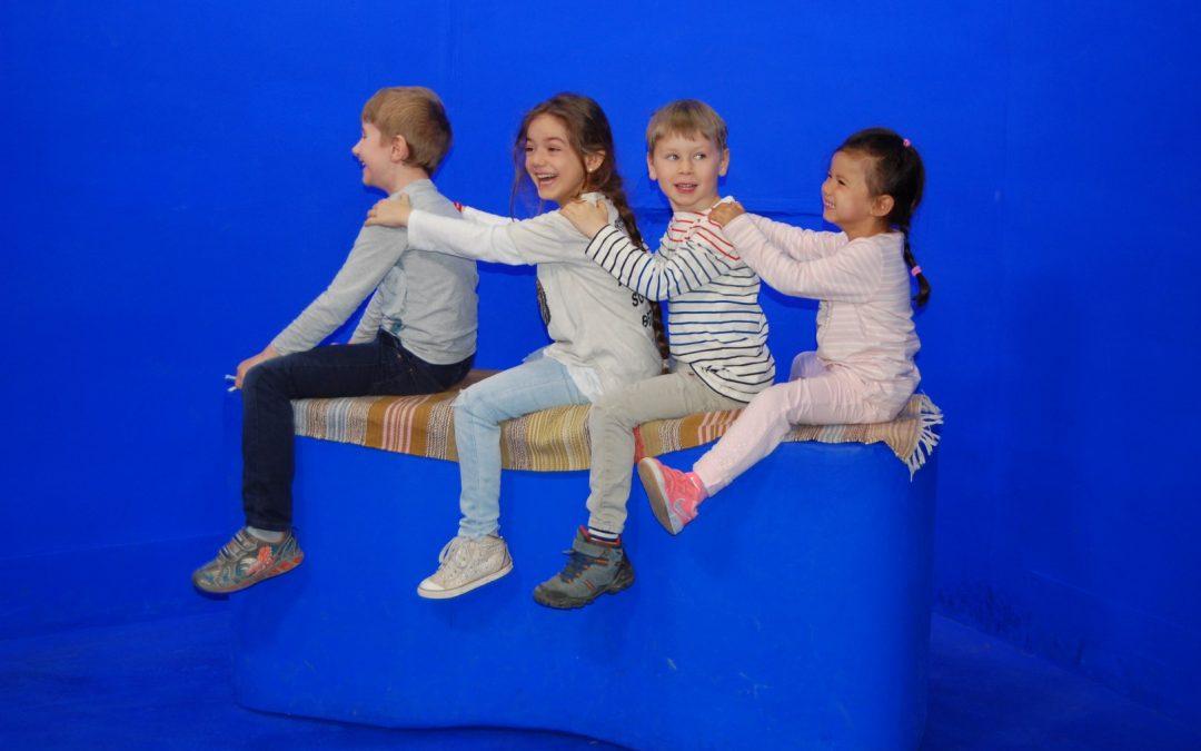 Unsere Waldkinder besuchen den ORF…